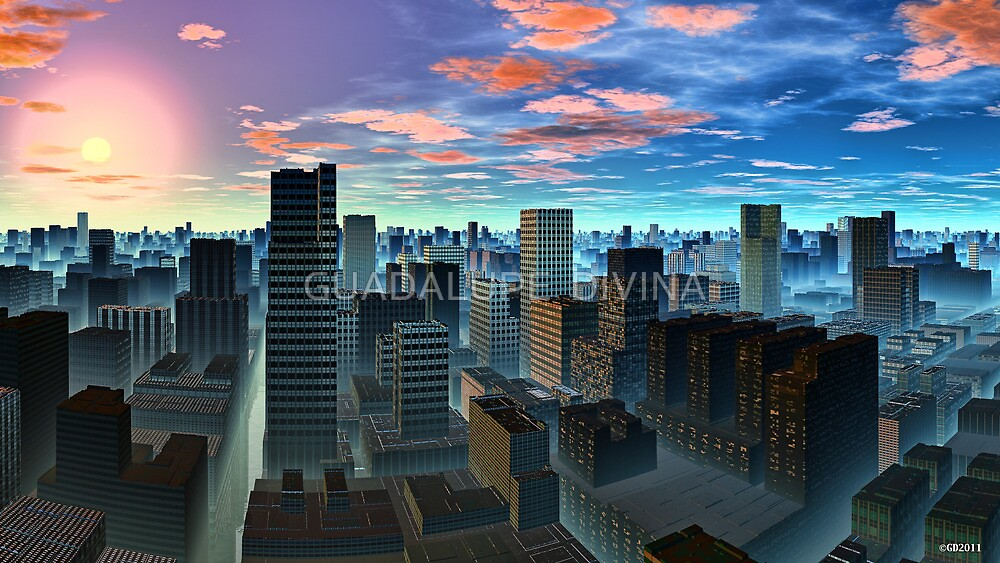 """""""CITY OF DREAMS"""" by GUADALUPE  DIVINA"""