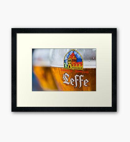 Leffe Blond Framed Print