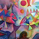 Fish farts 2 by Karin Zeller