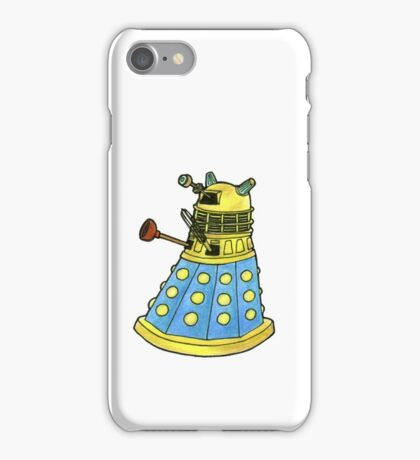 Blue Dalek iPhone Case/Skin