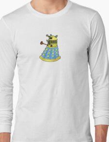 Blue Dalek Long Sleeve T-Shirt