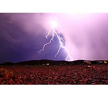 Woodbrook Lightning Photographic Print