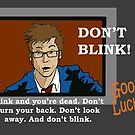 Doctor Who - Don't Blink by RiverbyNight
