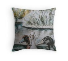 Hyde Park (Perth) Throw Pillow