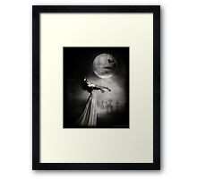 The dead will walk the earth. Framed Print