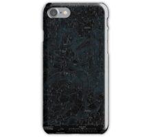 USGS Topo Map Oregon Groundhog Mountain 20110810 TM Inverted iPhone Case/Skin