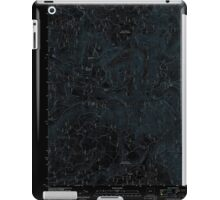 USGS Topo Map Oregon Groundhog Mountain 20110810 TM Inverted iPad Case/Skin