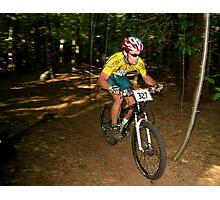 Short Track XC Race Photographic Print