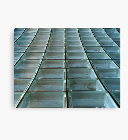 Glass Blocks Canvas Print