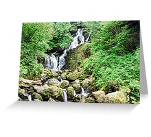 Torc waterfall, ring of Kerry, Ireland Greeting Card
