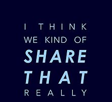 I think we kind of share that really by ilsera