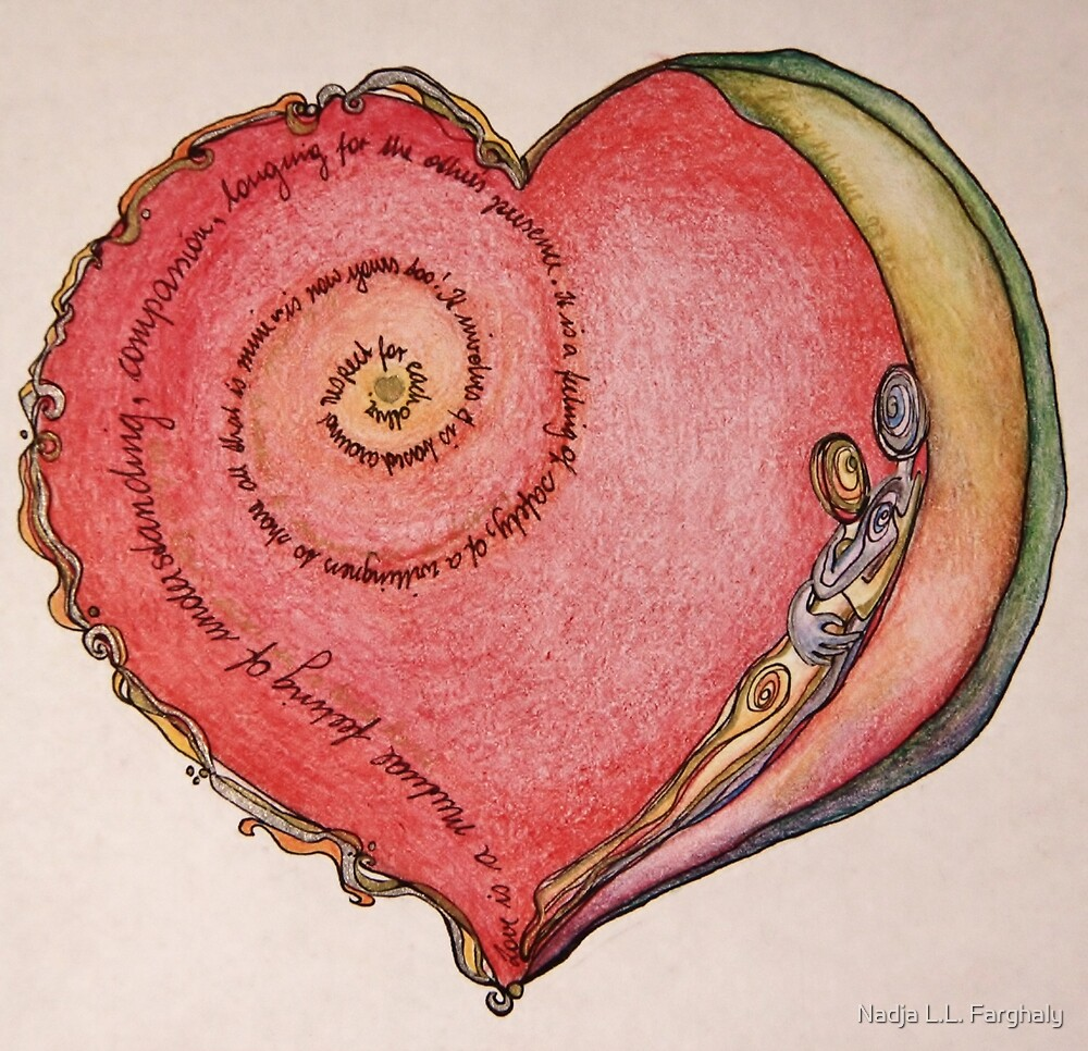 Aahhh love ...  by Nadja L.L. Farghaly