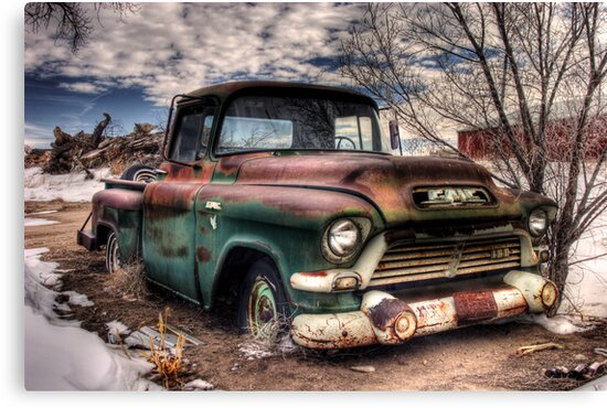Johnny's 56' GMC by Timothy S Price