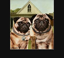 American Pug Gothic T-Shirt