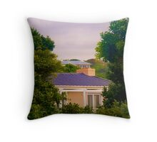 Between The Trees Throw Pillow