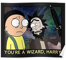 You're a Wizard, Harry Poster