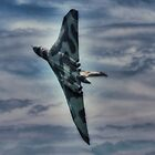 Vulcan at Beachy Head by Nigel Bangert