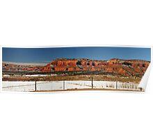 Red Rock Cliffs, Kanab, Utah Poster