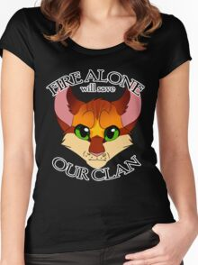 Fire Alone Women's Fitted Scoop T-Shirt