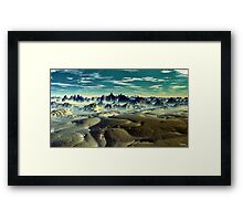 """KINGDOM OF SOLITUDE"" Framed Print"