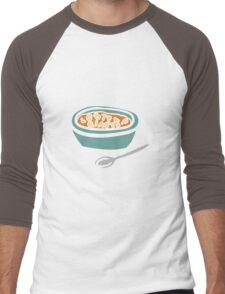 Alphabet Soup Men's Baseball ¾ T-Shirt