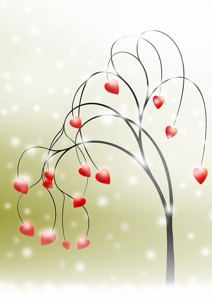 * tree of hearts * by franzi