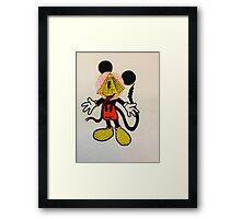 Illumi-Mickey Framed Print
