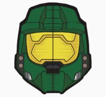 Master Chief Helmet by rasadesign