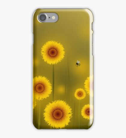 * sunflower field * iPhone Case/Skin