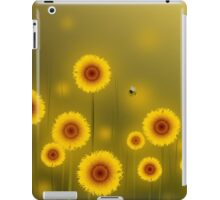 * sunflower field * iPad Case/Skin