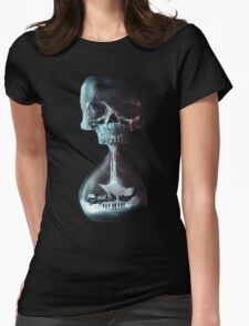 Until Dawn Hourglass Womens Fitted T-Shirt