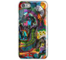 Every thought can change the day when let out in joyful play iPhone Case/Skin