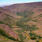 Kiger Gorge, Steens Mountain, Oregon by Dave Anderson