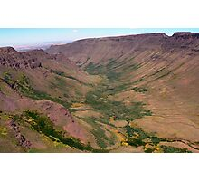 Kiger Gorge, Steens Mountain, Oregon Photographic Print