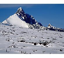 Mount Washington near McKenzie Pass, Oregon Photographic Print
