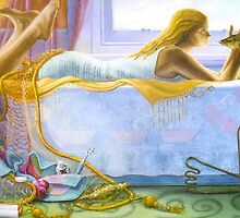 Water, oil on canvas, 2005 by fiona vermeeren