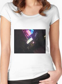 Movie theater  Women's Fitted Scoop T-Shirt