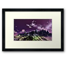 """PURPLE KINGDOM"" Framed Print"