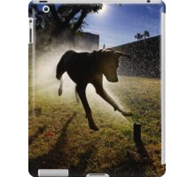Dogs with game face on .20 iPad Case/Skin
