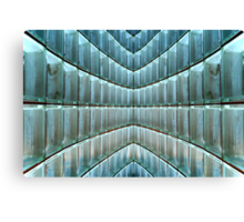 Playing With (Glass) Blocks Canvas Print