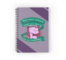 Respect Purple Spiral Notebook