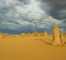 Pinnacles afternoon. by Peter Hodgson