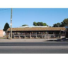 Cattle Sale Yards 2010 - Mernda, Victoria Photographic Print