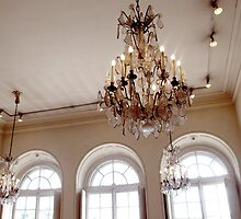 Chandeliers and Windows by babibell