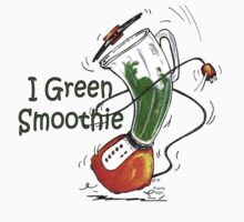 I Green Smoothie One Piece - Short Sleeve