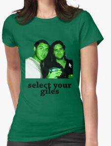 Select Your Giles Womens Fitted T-Shirt