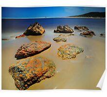 Arthur River Rocks Poster