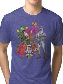 Classic Retro Atari Characters T-Shirt Tri-blend T-Shirt