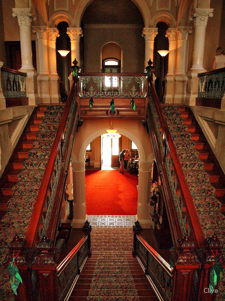 Inside Barwon Park Mansion (National Trust) by Clive