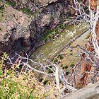 Next Step is a Long Drop to Arkansas River by David  Hughes